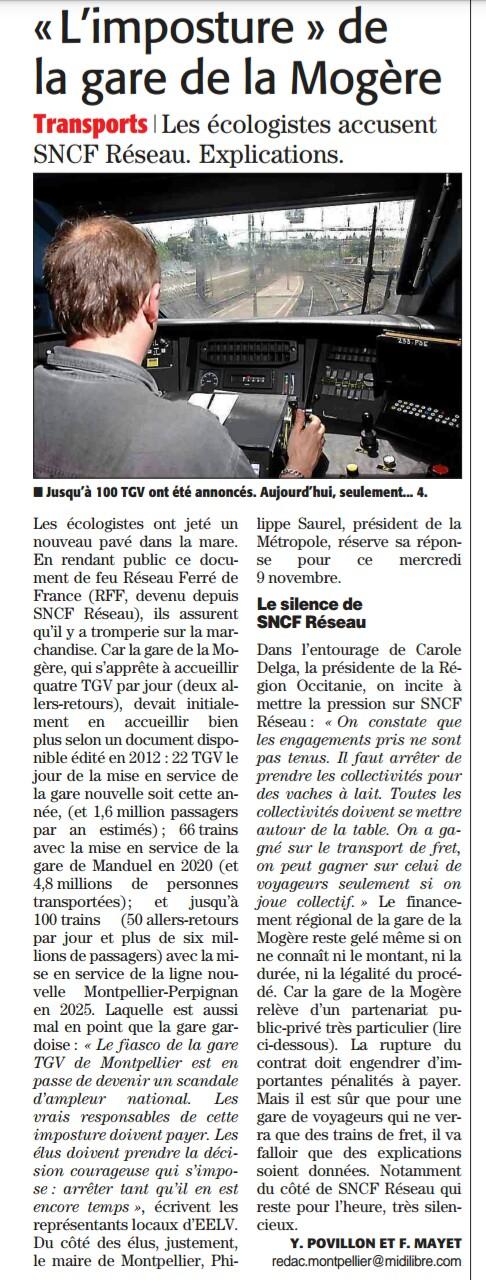 Midi Libre - 8 novembre 2016